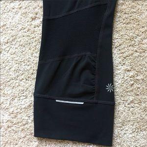 Athleta-Relay Capri-Black-Size medium